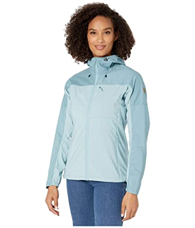 Fjallraven Abisko Midsummer Jacket (Clay Blue/Mineral Blue) Women