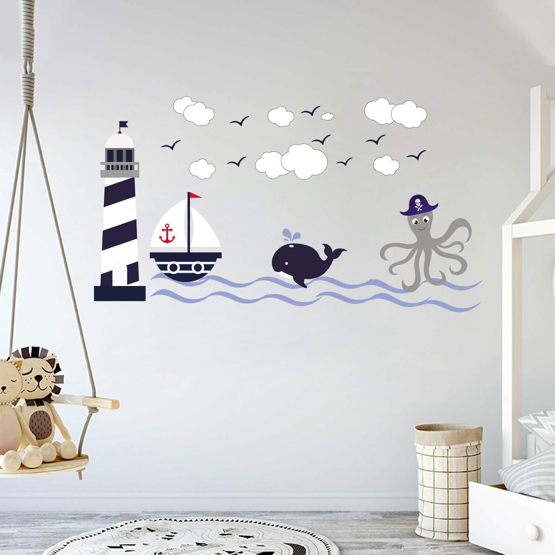 Amazon.com: Nautical Theme - The Wonderful Sea World Sailor Children