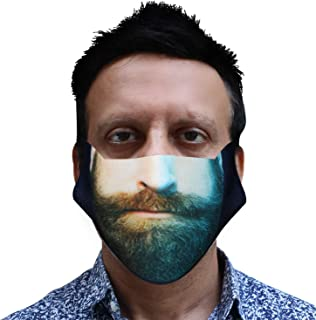 ORILEY ORCFM00 Reusable Cotton Face Mask Washable Breathable Protective Stylish Nose Mouth Cover for Men & Women (1 Pc)