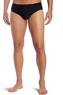 Sport Men's Solid Racer Swim Suit