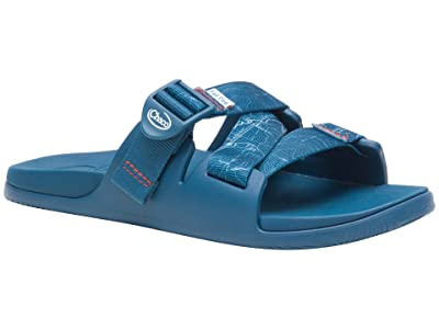 Chaco Chillos Slide (Contour Navy) Women