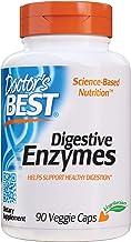 Doctor's Best, Enzimas Digestivas, 90 Cápsulas vegetarianas, sin gluten