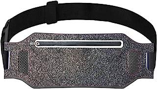 ANJ Outdoors Super Slim Water Resistant Money Belt, Running Belt for Women and Men, Expandable Phone Belt to Hold Cell Pho...