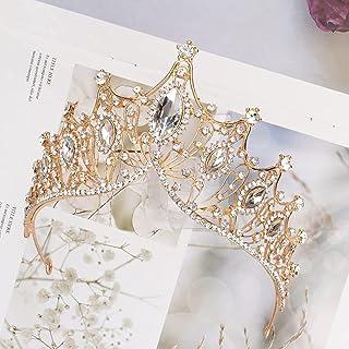 Hapdoo Wedding Crowns for Women Princess Tiara