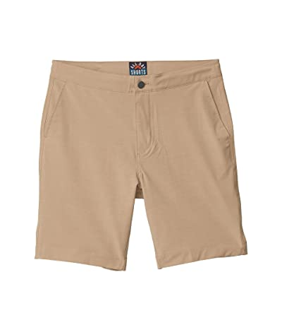 Faherty All Day Shorts (Khaki) Men