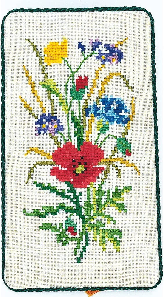 Eva Rose Stand Cross Cheap SALE Start Stitch Set Pattern Field Quality inspection Counted Flower x 9