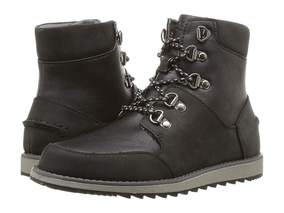 Sperry Kids Windward Boots (Little Kid/Big Kid) (Black/Black) Boys Shoes