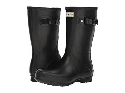 Hunter Norris Field Boot Short (Black) Women