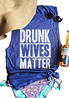 Women's Summer Vacation Shirt Funny Country Music Festival Tank Top Retro Vintage Graphic Holiday Party Sleeveless Tee Tops