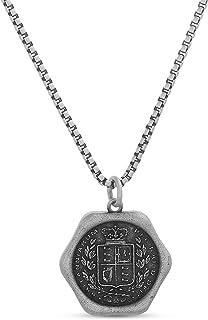 Oxidized Stainless Steel Britanniarum Wax Seal Coin...