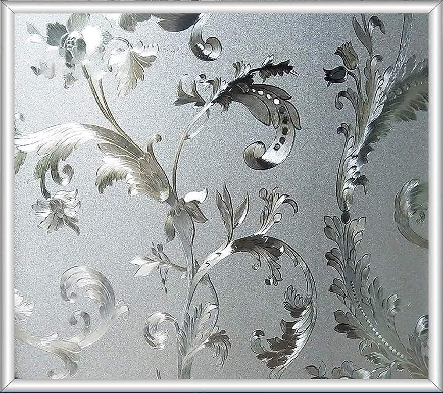 バランス実装するマチュピチュFANPING 静的すりガラスフィルム、バスルームベッドルームリビングルーム用ガラスフィルム静的しがみつくグラス膜ノーグルーアンチUVウィンドウステッカー (Color : S, Size : 90x100cm(35x39inch))