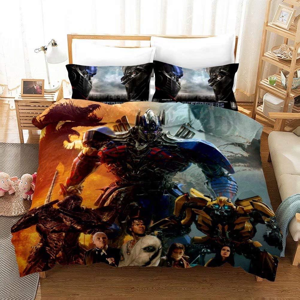 YARIVI Transformers Bedding Sets 販売 現品 for Soft Super Boys Bumblebee O