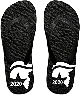 AA+ME Trump 2020 Comfortable Men Women Summer Beach Sandals Shower Flip-Flops Slippers