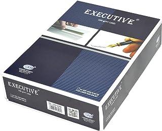 FIS Executive Laid Bond Paper, 500 Sheets, 100 gsm, Blue Color, A4 Size - FSPALD100BL