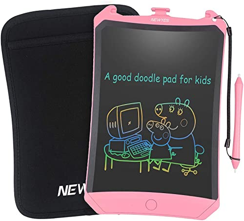 NEWYES 8.5 Inch LCD Writing Tablet- Electronic Writing Doodle pad Drawing Board Gifts for Kids Office Writing Board -...