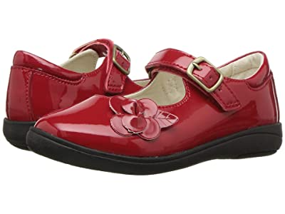 Stride Rite Ava (Little Kid) (Red Patent) Girls Shoes