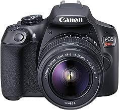 Canon EOS Rebel T6 cámara SLR digital con lente EF-S de 18-55mm f/3.5-5.6 IS II, Wi-Fi incorporado y comunicación de campo cercano - Negro (reconstruida, certificada)