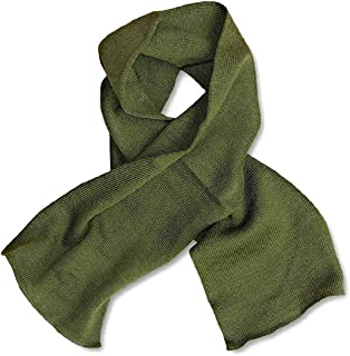 Military GI Wool Scarfs Olive Drab
