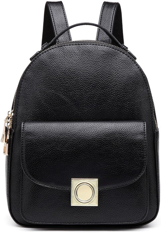 Frau Sommer Schultern Elegant und vielseitig blacker Rucksack Schultasche B