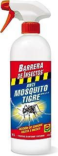 Compo Repelente Barrera de Insectos Insecticida para Mosquito Tigre- Accion de Choque hasta 3 Meses- para Interior y Exterior- 1 L- 28x9x9 cm