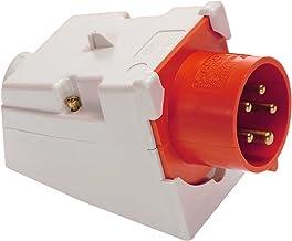 as - Schwabe 60436 CEE-wandtoestelstekker, 32 A, 5-polig, 6 uur, 400 V krachtstroom apparaatstekker