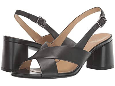 Naturalizer Azalea (Black Leather) Women
