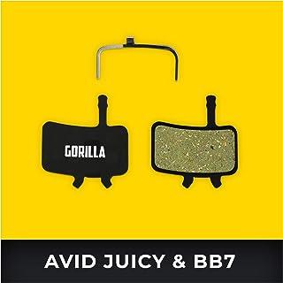 Avid Juicy Pastillas de Freno 3 5 7 Carbon Ultimate & Avid BB7 para Freno de Disco Bicicleta I Orgánico & Sinterizado I Alto Rendimiento I Durable & Ajuste Pastillas de Freno Bicicleta
