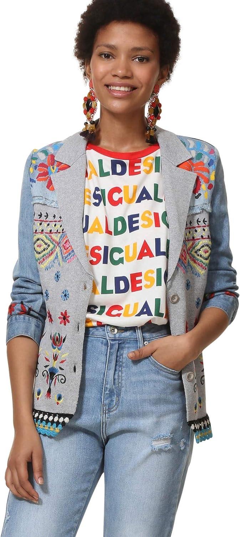 Desigual Knit Jacket Ginebra Barbara