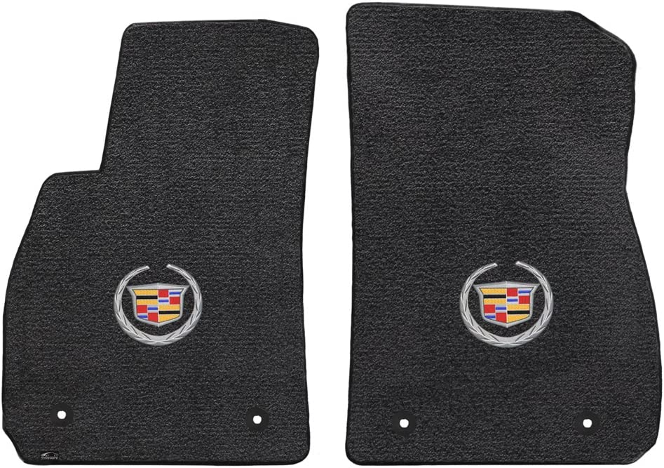 Fits 2013-UP Cadillac XTS Floor Bargain sale 2PC With Special price for a limited time Crest Mats Ebony