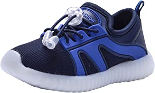 PPXID Boy's Girl's Breathable Drawstring Casual Sneaker Running Shoes