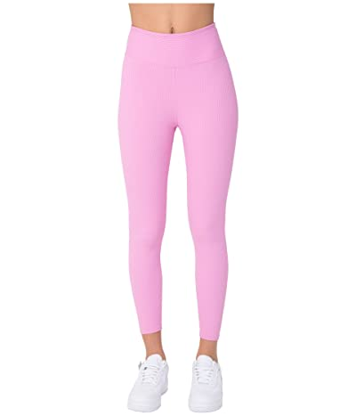 YEAR OF OURS Ribbed Jogger Leggings (True Pink) Women