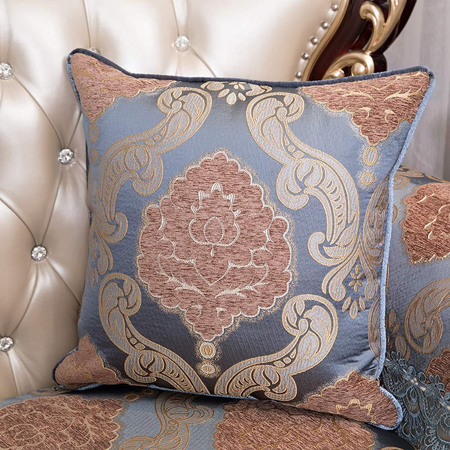 Pillow Soft and Comfortable Large Back Home Decoration is Not Easy to Deform The Pillow, Multi-color Optional QYSZYG (color   C, Size   46cm46cm)