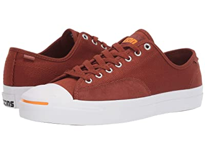 Converse Jack Purcell Pro Workwear Twill Ox (Cinnamon/White/Orange Rind) Shoes