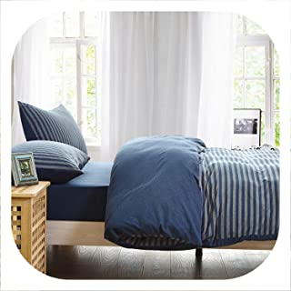 Memoirs- Knitted Cotton Bedlinen Soft Warm Bedding Set Single Double Size,2016666,150X200Cm Bed Set,Fitted Bed Sheet