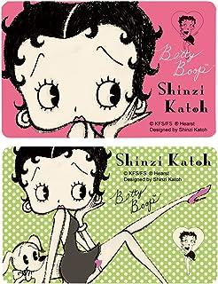 シール堂 Shinzi Katoh ICカード情報保護シール Betty Boop 2枚セット ks-ic-10021