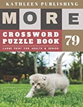 Crossword Puzzles for Seniors: cool crossword puzzles for adults | More Large Print Crosswords Game |  Hours of brain-boosting entertainment for ... senior gifts for men (crossword books quick)