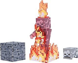 Minecraft Figure Pack, Color, Skeleton on Fire