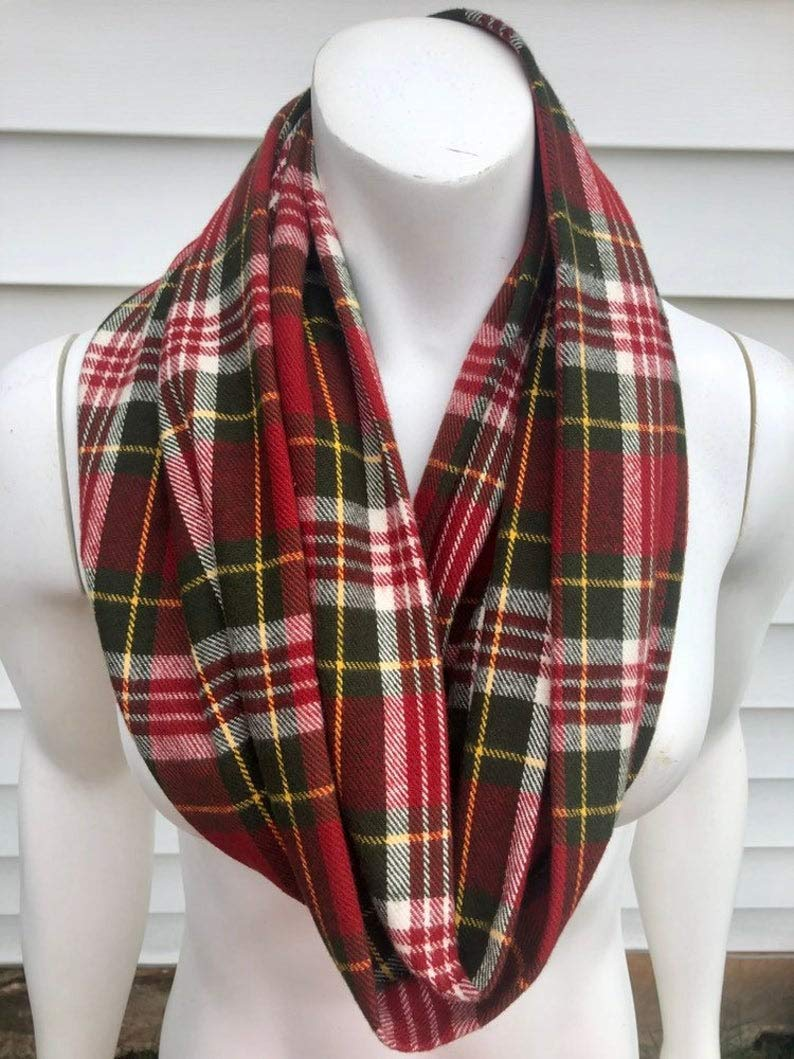 Red and Regular dealer Green Plaid Ranking TOP5 Christmas Scarf