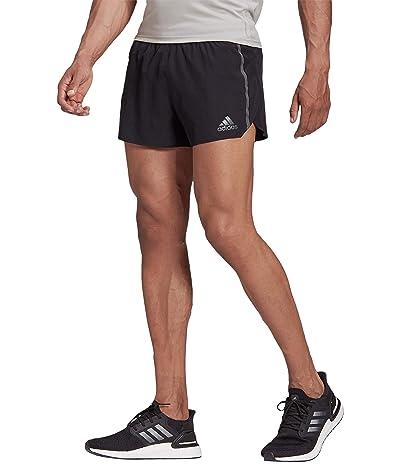 adidas Saturday Split Shorts (Black/Grey Six) Men