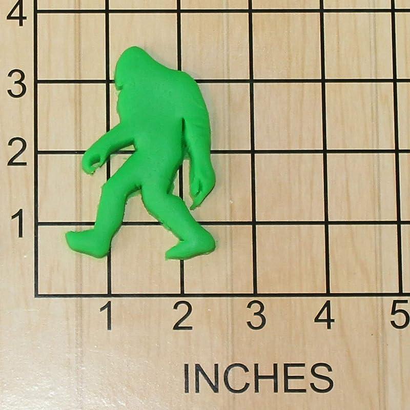 Bigfoot Sasquatch Shape Fondant Cookie Cutter 1404