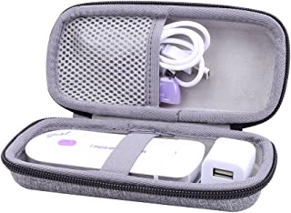 Hard Case for Finishing Touch Yes Hair Remover fits USB charger by Aenllosi (Gray)