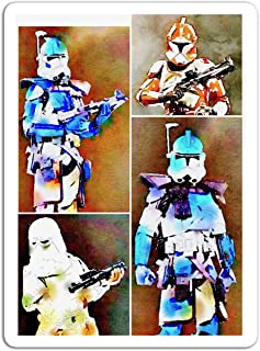KoutYukshop Sticker Motion Picture The Clone Troopers of The Grand Army of The Republic Ar Action Movies Video Film (3