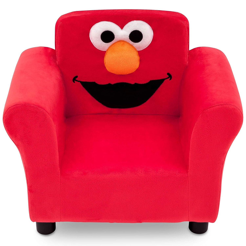 famous Sesame Street Elmo Upholstered Popular brand in the world by Chair Delta Children