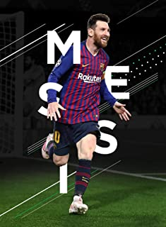 VVWV Lionel Messi The Goat Football Posters for Wall Large Room Motivational Room Decoration L X H 30.48 X 45.72