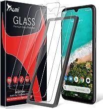 TAURI [3 Pezzi Pellicola Protettiva per Xiaomi Mi A3,[Installazione Semplice del Telaio di allineamento][2.5D][9H Durezza][Senza Bolle] Protezione Schermo Vetro Temperato