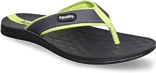 Aqualite Grey Slippers - 10 UK (44 EU) (PPG01154GGYPG10)