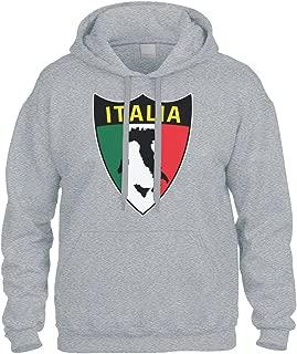 Cybertela Italian Italy Italia Shield Flag Sweatshirt Hoodie Hoody