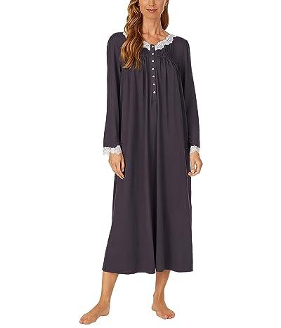 Eileen West Sweater Knit Ballet Nightgown (Charcoal) Women