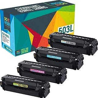 Best Do It Wiser Compatible Toner Cartridge Replacement for CLT-503L Samsung C3060FW C3010DW C3060   CLT-K503L CLT-C503L CLT-M503L CLT-Y503L (4 Pack) Review