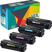Do It Wiser Compatible Toner Cartridge Replacement for CLT-503L Samsung C3060FW C3010DW C3060 | CLT-K503L CLT-C503L CLT-M5...